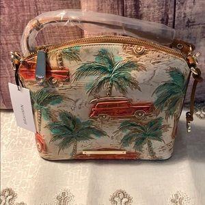 Brahmin Mini Duxbury  Multi Copa Cabana Bag